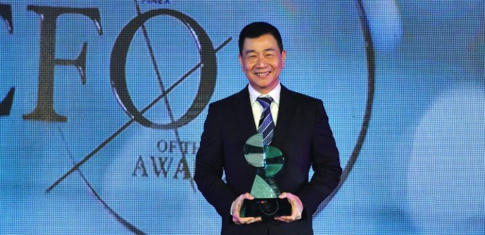 Philex Mining CFO Danny Yu is ING-FINEX CFO of the Year 2016