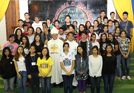 Bishop tells youth to promote Christianity