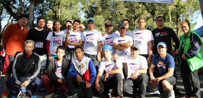 Philex Mining supports, runs in IBP Marathon