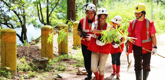 PHILEX ACHIEVES DOUBLE ITS 2017 REFO-PROGRAM TARGET   144,714 trees, other floras planted in 110 hectares of land in Tuba, Itogon