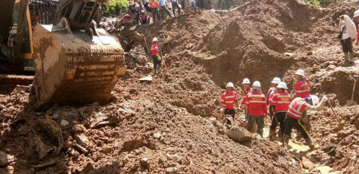 PHILEX RESCUERS FIND MORE LANDSLIDE VICTIMS