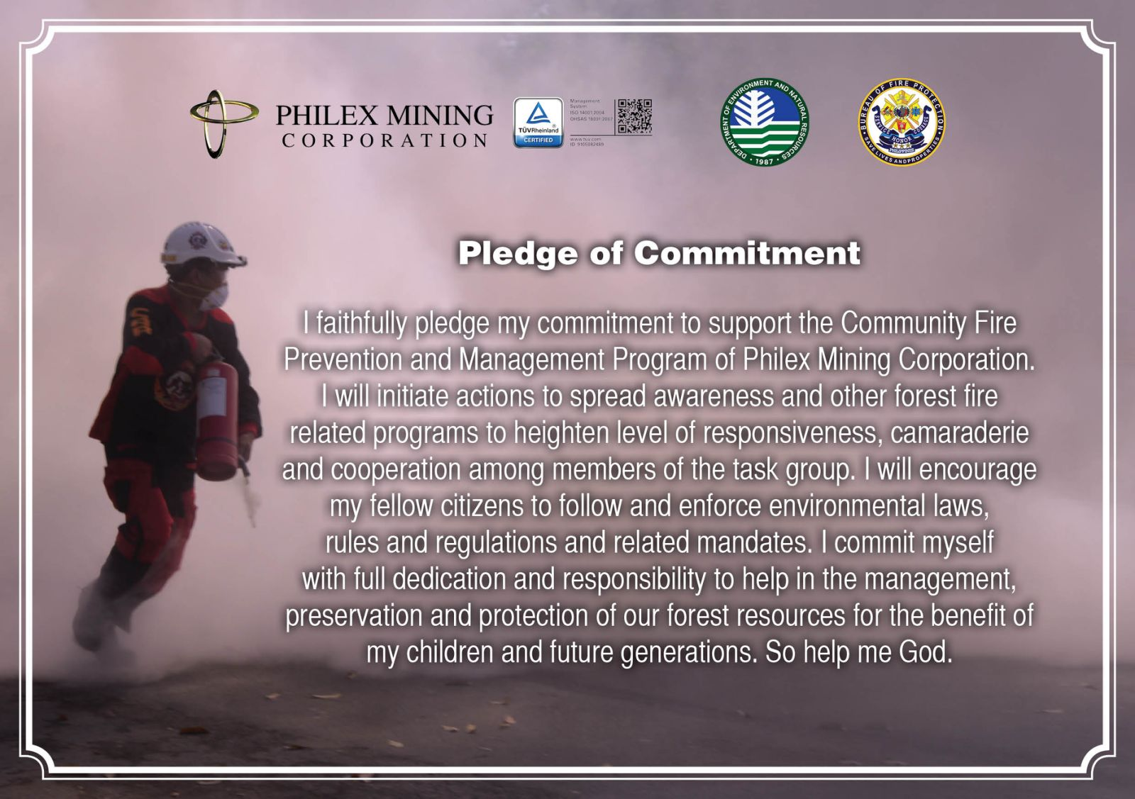 In Commemoration of Fire Prevention Month