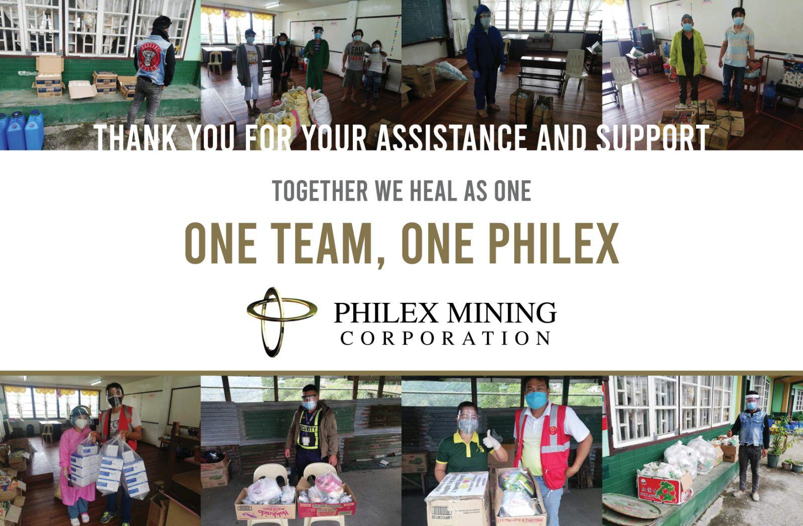 One Team, One Philex 1