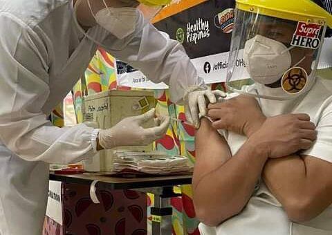 Sto. Niño Hospital of the Philex Mining Corporation has completed its first batch of vaccination of its employees