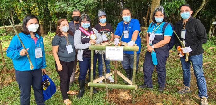 SILANGAN MINDANAO MINING UPGRADES BAMBOO PLANTING SKILLS