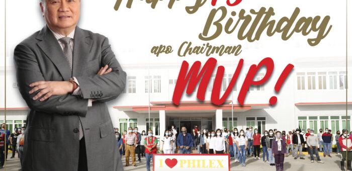 Happy 75th Birthday Apo Chairman MVP!