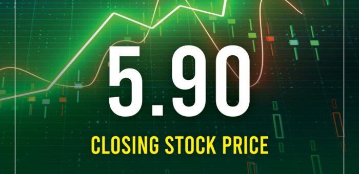 Philex Closing Stock Price as of September 7, 2021