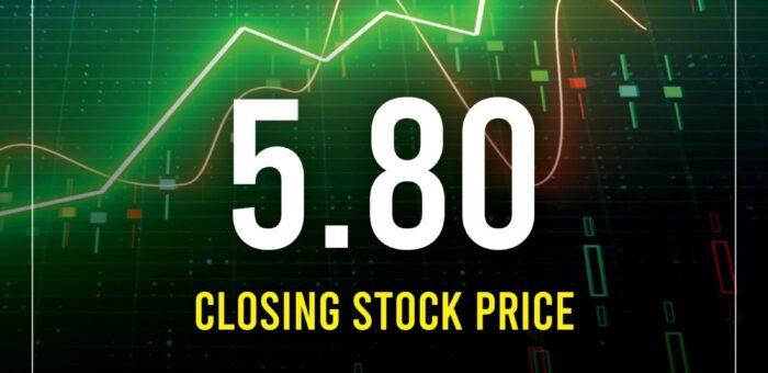Philex Closing Stock Price as of September 6, 2021
